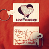 Love Warrior Keychain